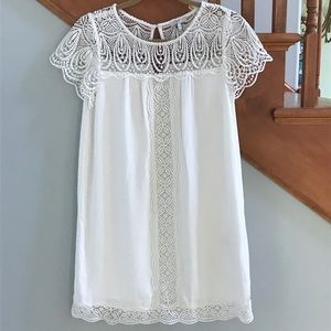 Beautiful joie dress with lace inset.   NWOT.